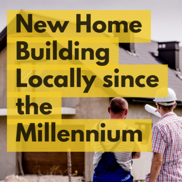 New Home Building in #Ilkley and #Bradford 2018 rises to 20.1% above the post Millennium average